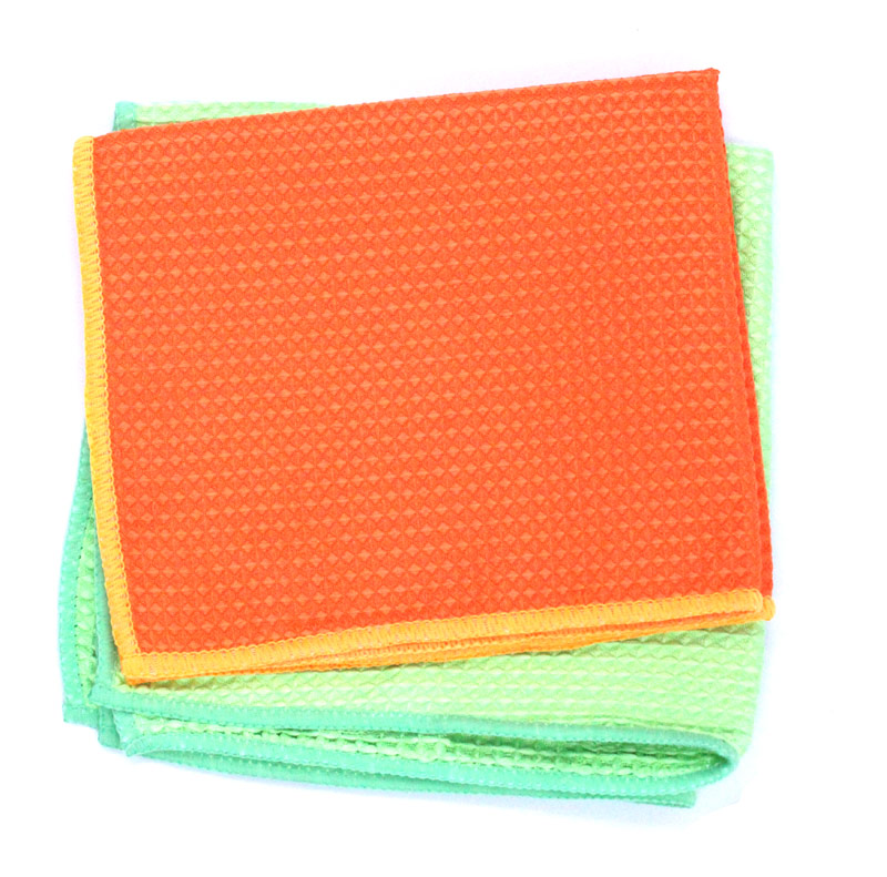 Waffle Mesh Microfiber Towel Mesh shape and with different Sizes and Colors