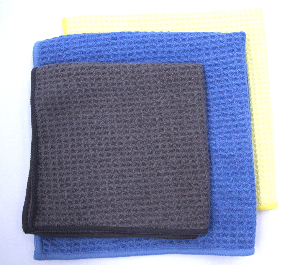 Waffle Mesh Sport Microfiber Towels with Different Sizes and Colors