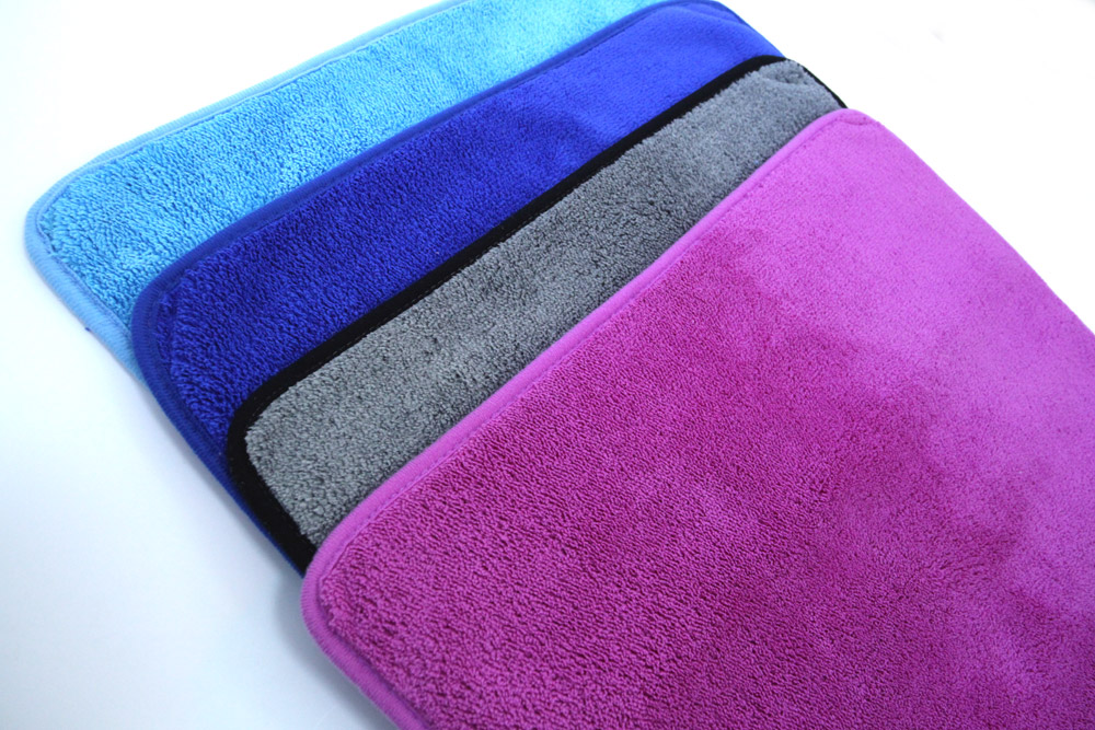 Compound Coral Fleece Microfiber Towel with Different Colors
