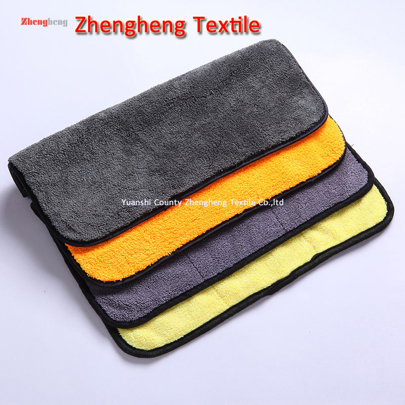 Coral Fleece Microfiber Towels with Double Layers
