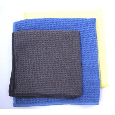 Sanding Towel with Weft Knitting Cloth