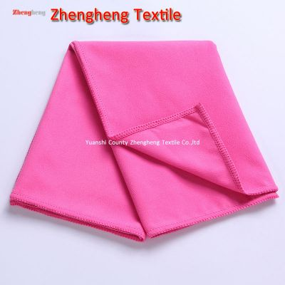 Flannelette Microfiber Cloth Towel, Glasses Cleaning Microfiber Towel